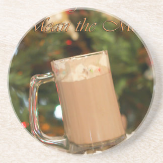 the little things.jpg drink coaster