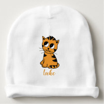 The Little Tiger Cub | Baby Beanie Hat