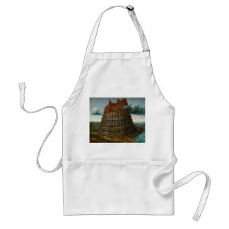 The Little Tower of Babel by Pieter Bruegel Apron