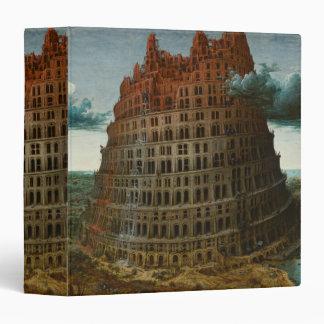 The Little Tower of Babel by Pieter Bruegel Binder