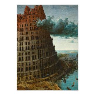 The Little Tower of Babel by Pieter Bruegel Card