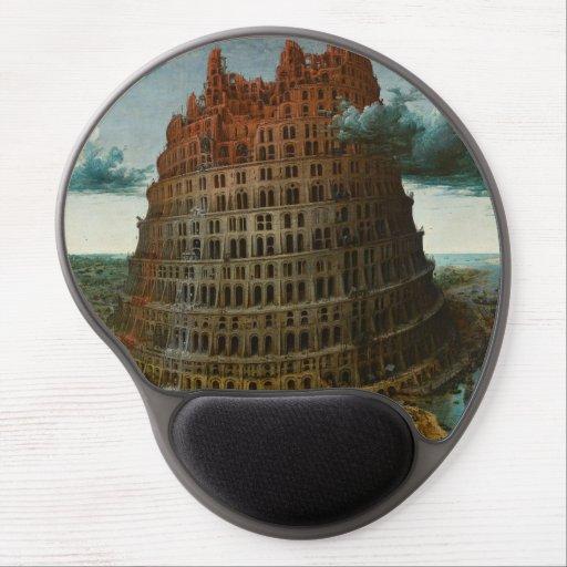 The Little Tower of Babel by Pieter Bruegel Gel Mouse Mat