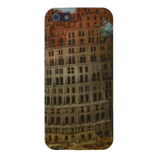 The Little Tower of Babel by Pieter Bruegel iPhone SE/5/5s Case