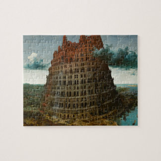The Little Tower of Babel by Pieter Bruegel Jigsaw Puzzle