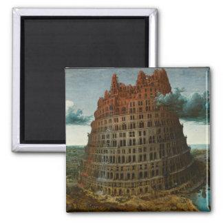 The Little Tower of Babel by Pieter Bruegel Magnet