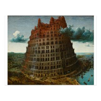 The Little Tower of Babel by Pieter Bruegel Postcard