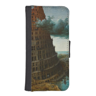 The Little Tower of Babel by Pieter Bruegel Wallet Phone Case For iPhone SE/5/5s