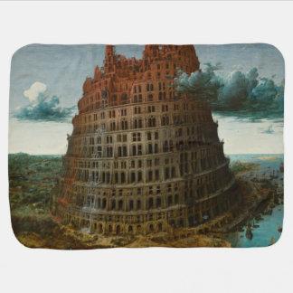 The Little Tower of Babel by Pieter Bruegel Stroller Blanket
