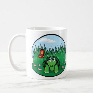 The Little Turtle Butterfly Coffee Mug