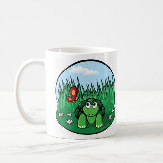 The Little Turtle Butterfly V2 Coffee Mug