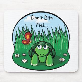 The Little Turtle, Don't Bite Me!... mousepad