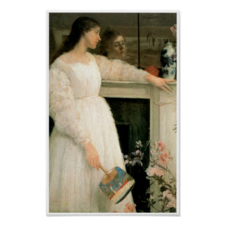 The Little White Girl; Symphony in White, No 2 Poster
