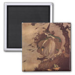 The Little Witch 2 Inch Square Magnet