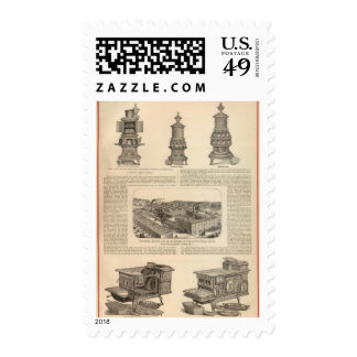 The Littlefield Stove Manufacturing Company Postage Stamps