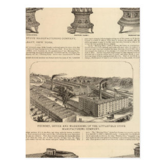 The Littlefield Stove Manufacturing Company Postcard