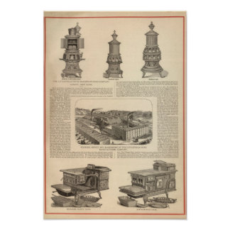 The Littlefield Stove Manufacturing Company Poster