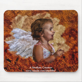 The Littlest Angel Mouse Pad