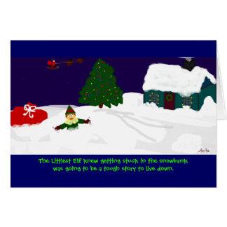 The Littlest Elf Card