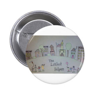 The Littlest Helpers is going Viral! Pinback Button
