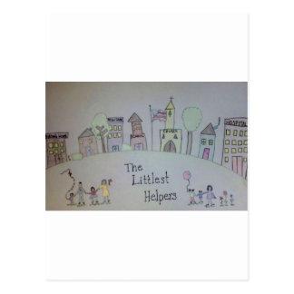 The Littlest Helpers is going Viral! Postcard