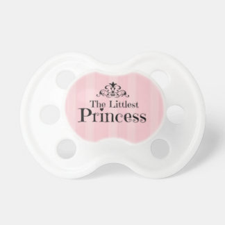 The Littlest Princess Baby Girl Pacifier