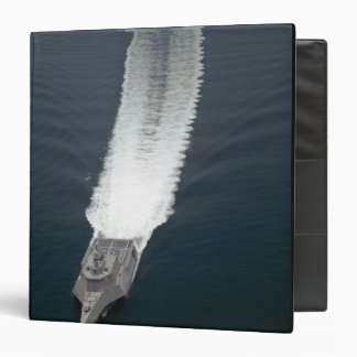 The littoral combat ship Independence 2 3 Ring Binder