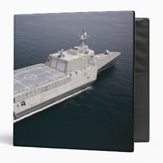 The littoral combat ship Independence 3 3 Ring Binder
