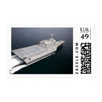 The littoral combat ship Independence 3 Postage