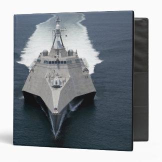 The littoral combat ship Independence Binder