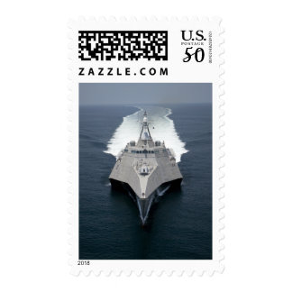 The littoral combat ship Independence Postage