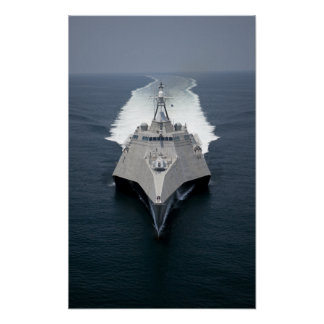 The littoral combat ship Independence Poster