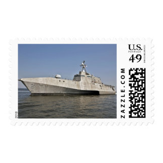 The littoral combat ship Independence underway Postage