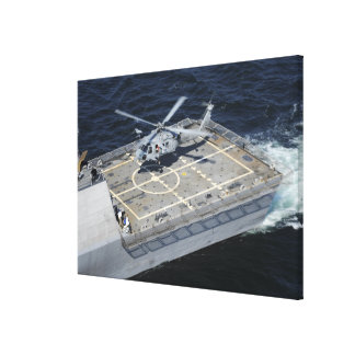 The littoral combat ship USS Freedom Canvas Print