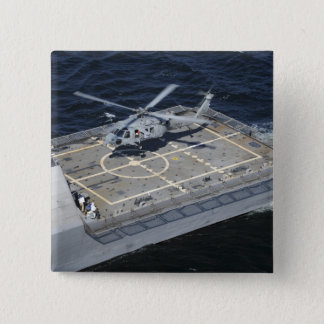 The littoral combat ship USS Freedom Pinback Button