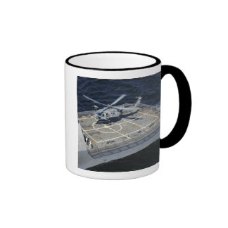 The littoral combat ship USS Freedom Ringer Mug
