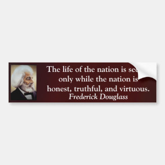 The Live of the Nation Car Bumper Sticker