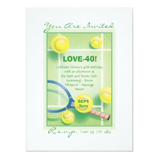 The Lively Set © 6.5x8.75 Paper Invitation Card