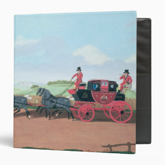 The Liverpool and London Royal Mail Coach, 1812 3 Ring Binders