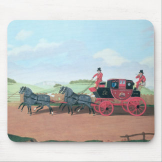 The Liverpool and London Royal Mail Coach, 1812 Mouse Pad