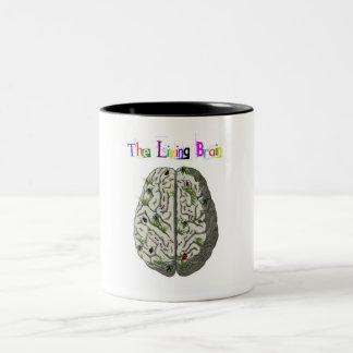 The Living Brain Two-Tone Coffee Mug