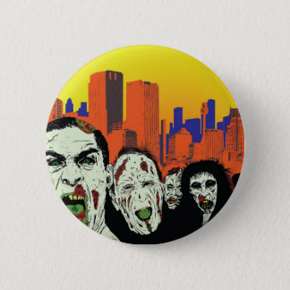 The living dead zombies button