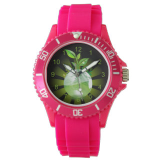 The Living Earth Wristwatch