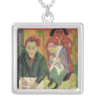The Living Room, 1920 Square Pendant Necklace