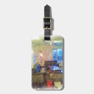 The Living Room Travel Bag Tag