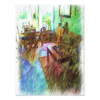 The Living room Photo Print