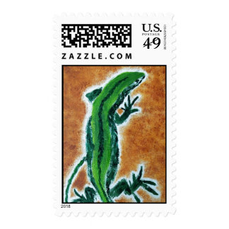 The lizard Postage