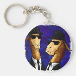 The LLama Brothers Key Chain
