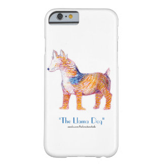 The Llama Dog 2.0 - Hybrid Creature in Watercolor Barely There iPhone 6 Case