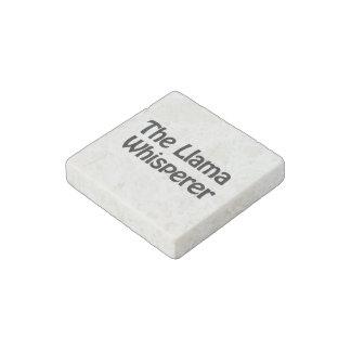 the llama whisperer stone magnet