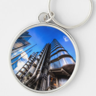 The Lloyd's of London Cheesegrater and Willis Grou Keychain
